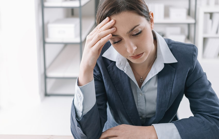 Headaches Could Mean Significant Problems At Work