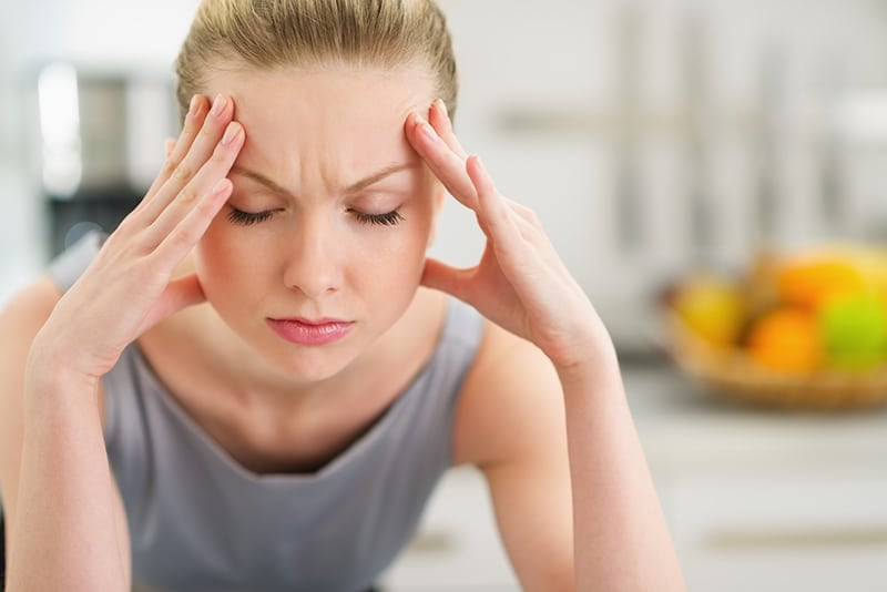 Headaches are a symptom of TMJ